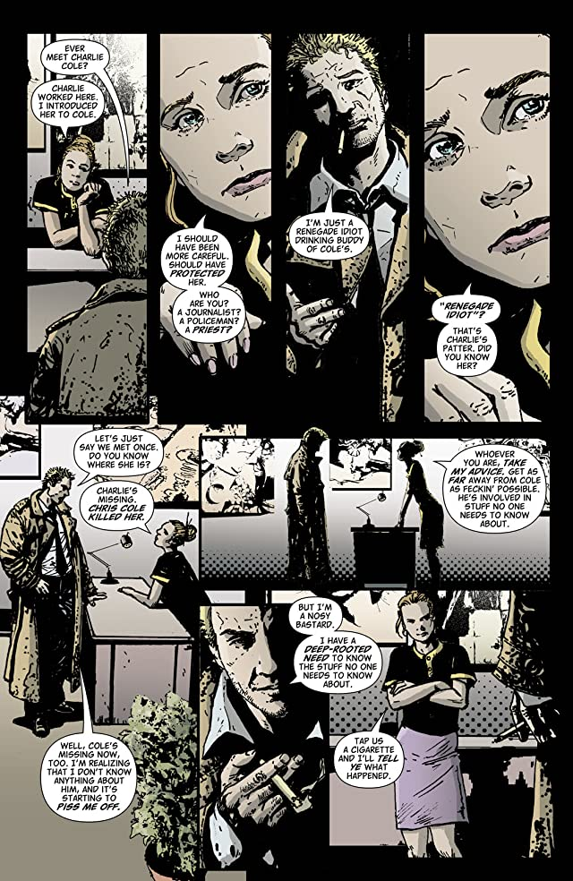 click for super-sized previews of Hellblazer #221
