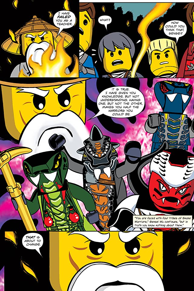 click for super-sized previews of Ninjago Vol. 4: Tomb of the Fangpyre Preview