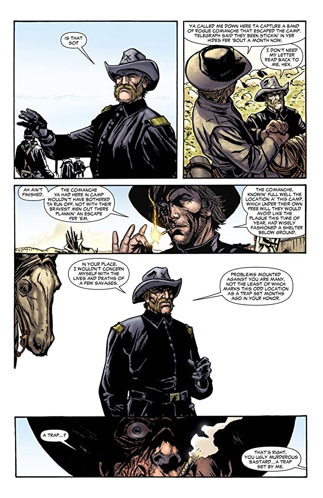 click for super-sized previews of Jonah Hex (2006-2011) #44