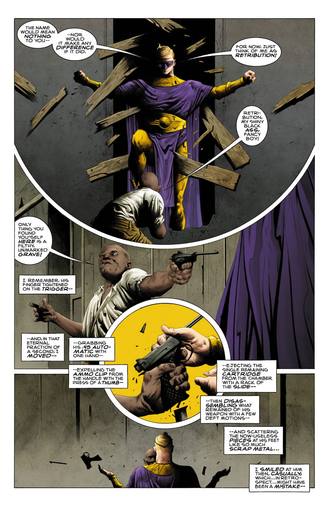 Before Watchmen: Ozymandias #2 (of 6)