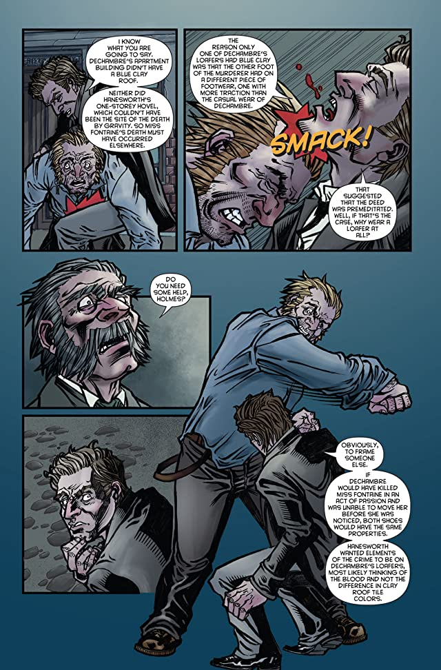 click for super-sized previews of Sherlock Holmes: Victorian Knights #1
