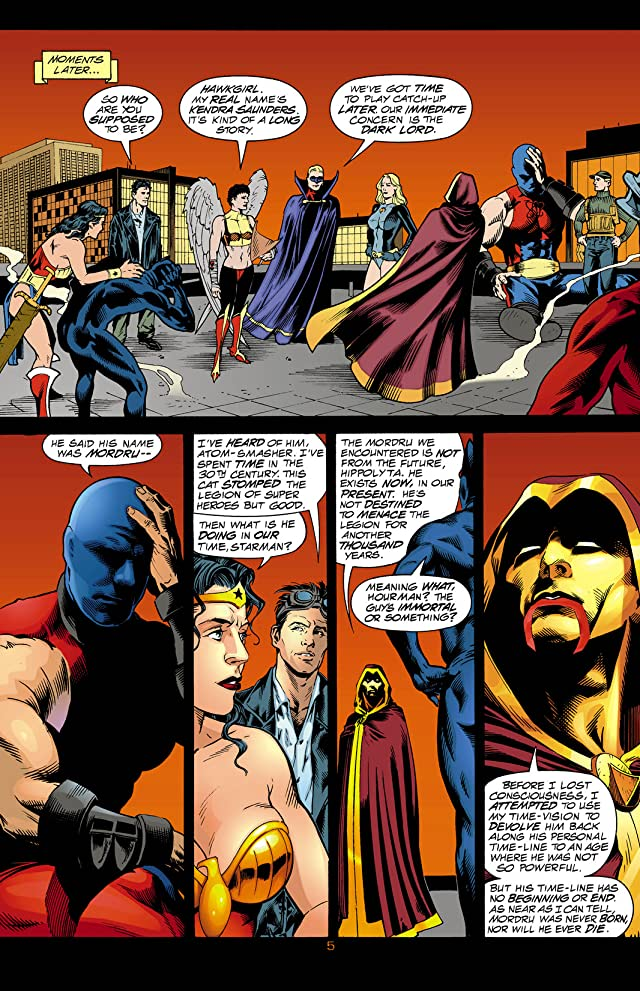 click for super-sized previews of JSA (1999-2006) #3