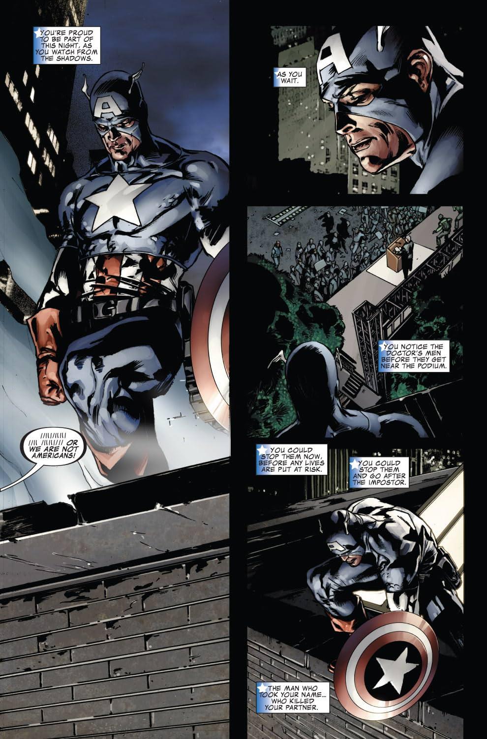 Captain America (2004-2011) #39