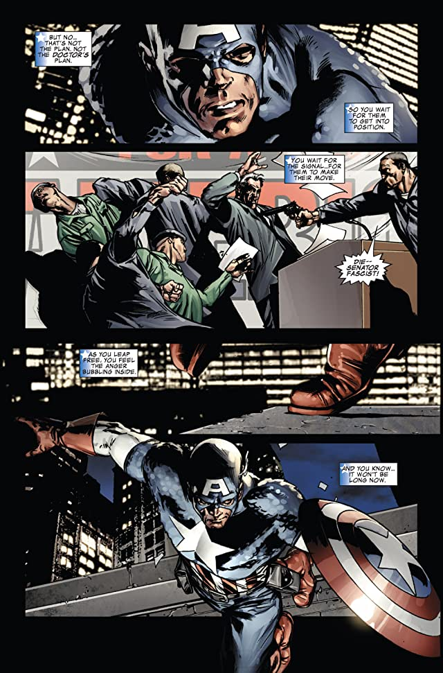 click for super-sized previews of Captain America (2004-2011) #39