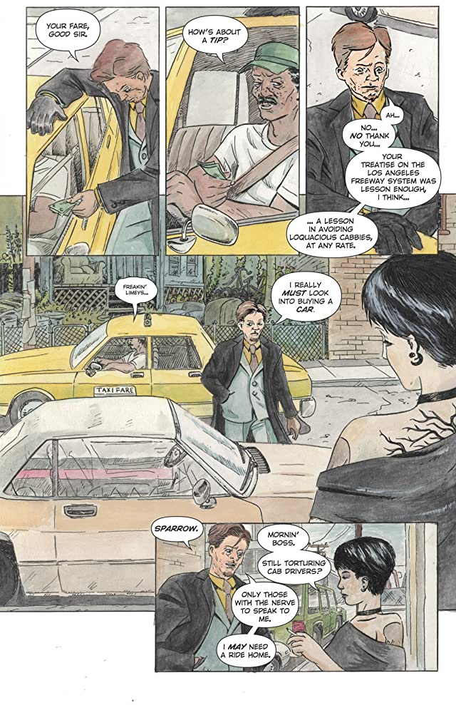 Sparrow and Crowe #1