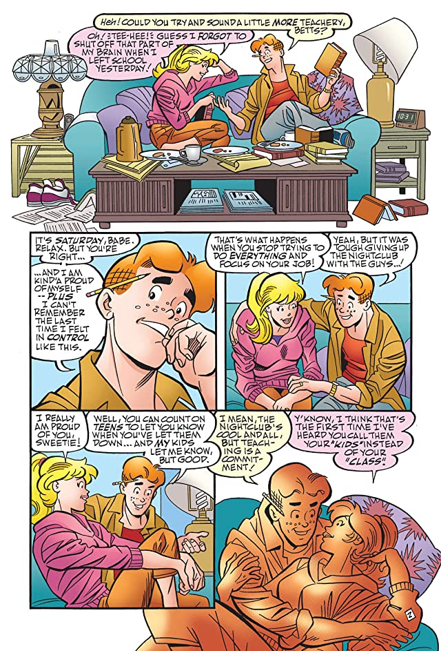 click for super-sized previews of Archie Marries Betty #22