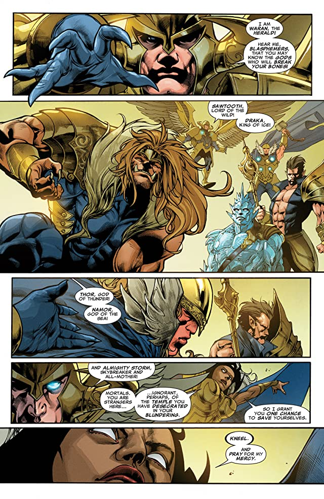 click for super-sized previews of X-Treme X-Men (2012-2013) #2