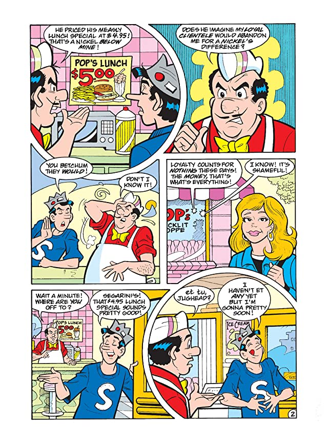 click for super-sized previews of Jughead Double Digest #184