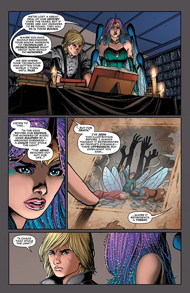 click for super-sized previews of Soulfire Vol. 3 #6