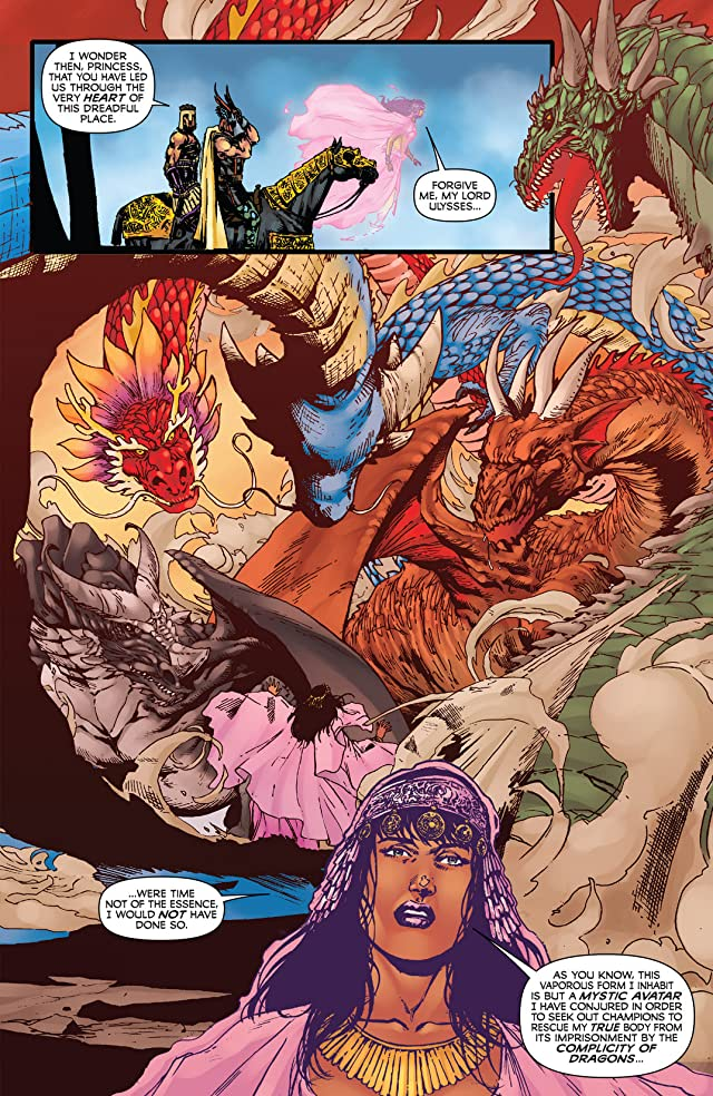click for super-sized previews of Kirby: Genesis - Dragonsbane #3
