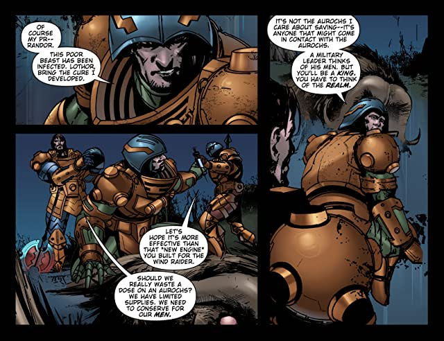 click for super-sized previews of Masters of the Universe #4