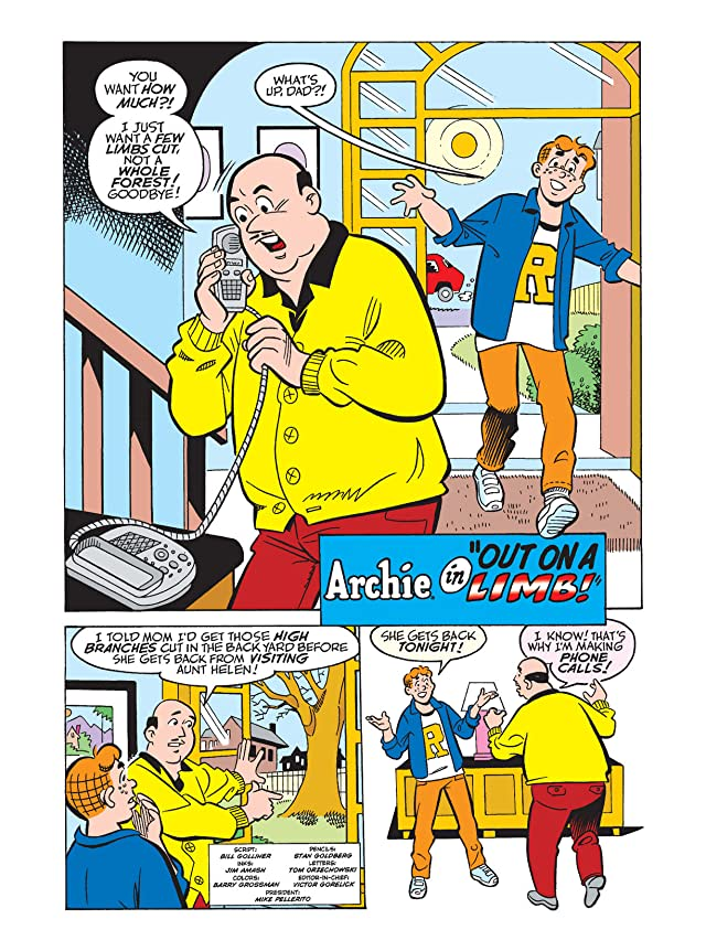 click for super-sized previews of Archie Double Digest #232