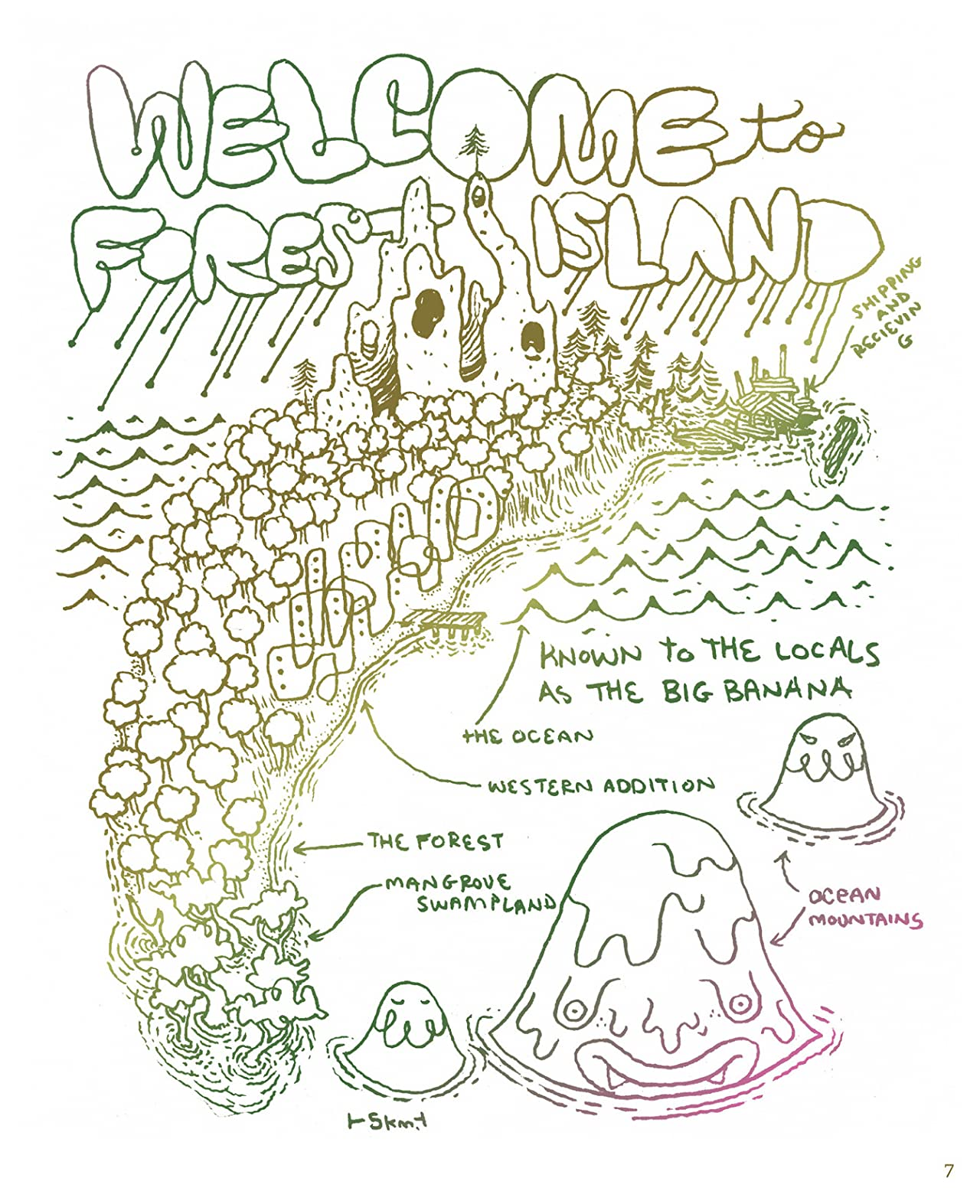 Welcome To Forest Island