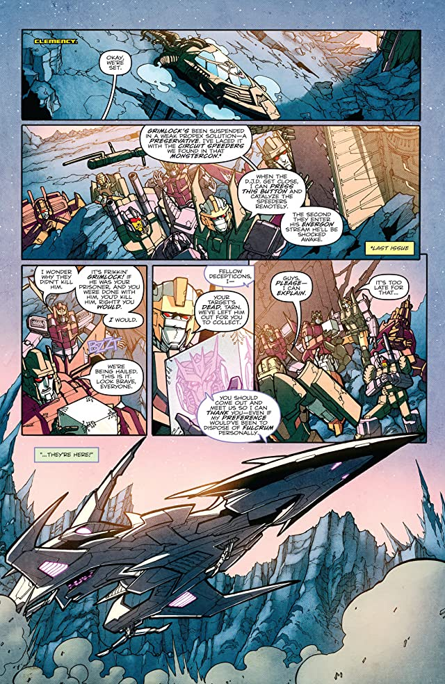 click for super-sized previews of Transformers: More Than Meets the Eye (2011-) #8
