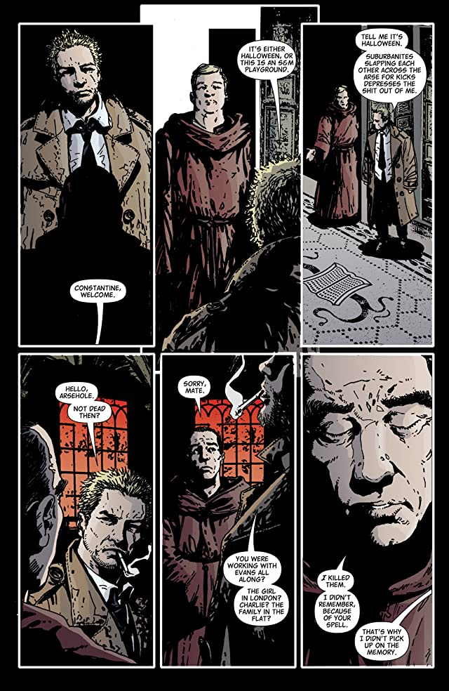 click for super-sized previews of Hellblazer #222