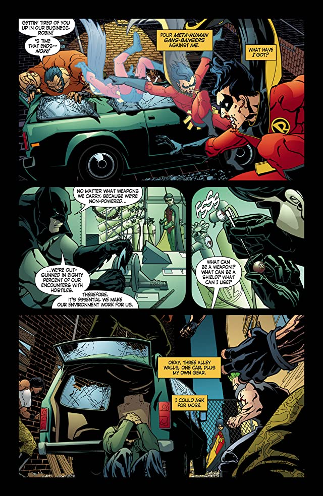 click for super-sized previews of Robin (1993-2009) #161