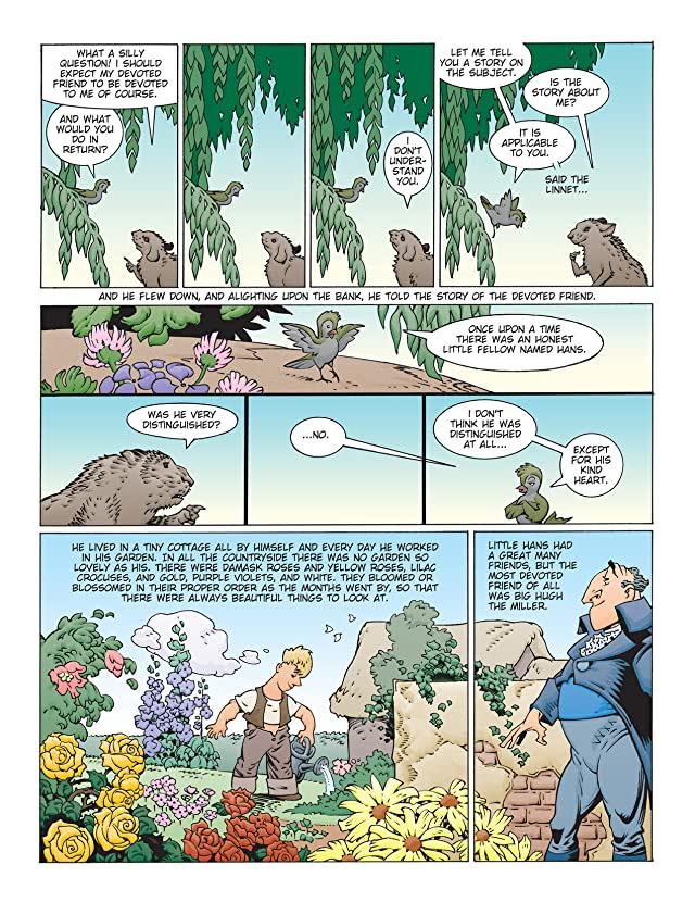click for super-sized previews of Fairy Tales of Oscar Wilde Vol. 4: Preview