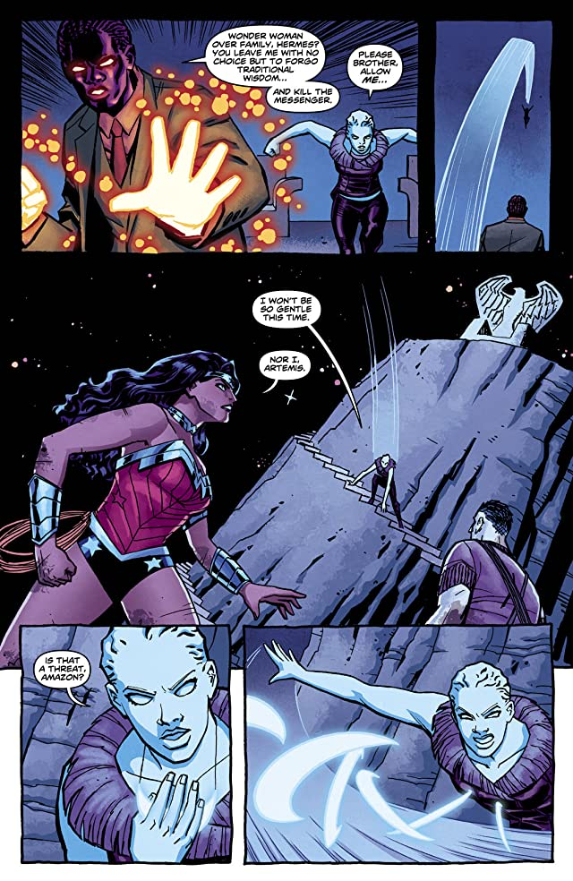click for super-sized previews of Wonder Woman (2011-) #12