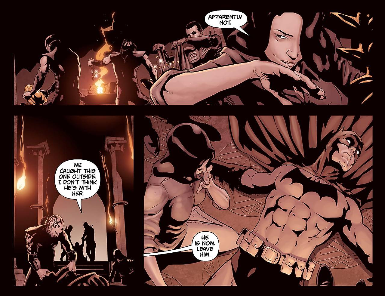 Batman: Arkham Unhinged #38