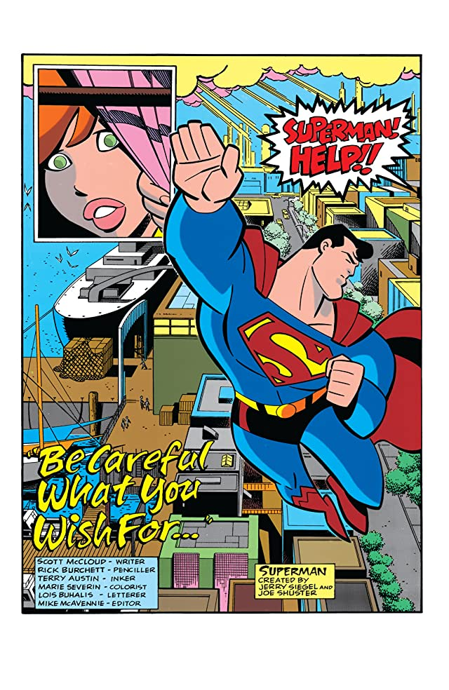 click for super-sized previews of Superman Adventures (1996-2002) #2