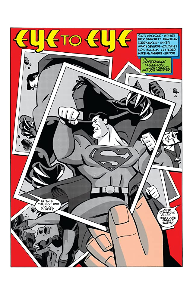 click for super-sized previews of Superman Adventures (1996-2002) #4