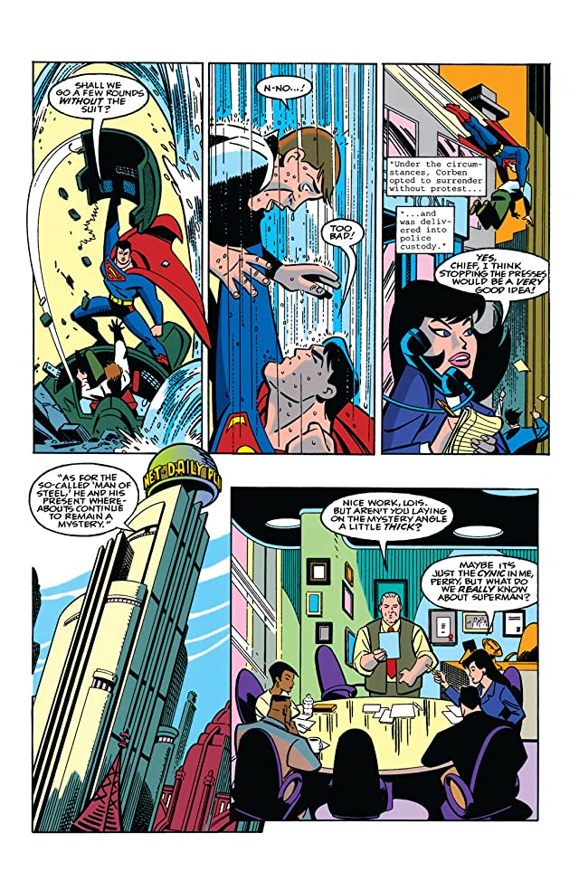 click for super-sized previews of Superman Adventures (1996-2002) #1