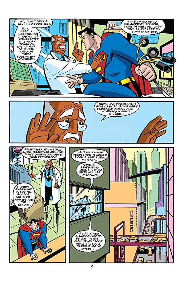 click for super-sized previews of Superman Adventures (1996-2002) #12