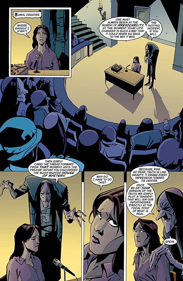 click for super-sized previews of House of Mystery (2008-2011) #14