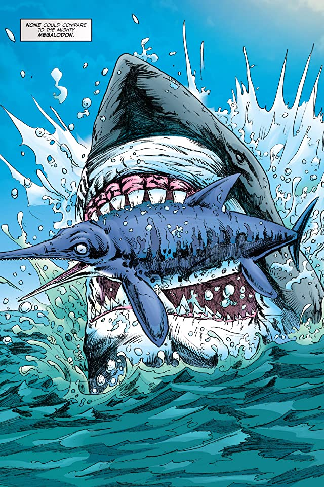 click for super-sized previews of Megalodon & Prehistoric Sharks