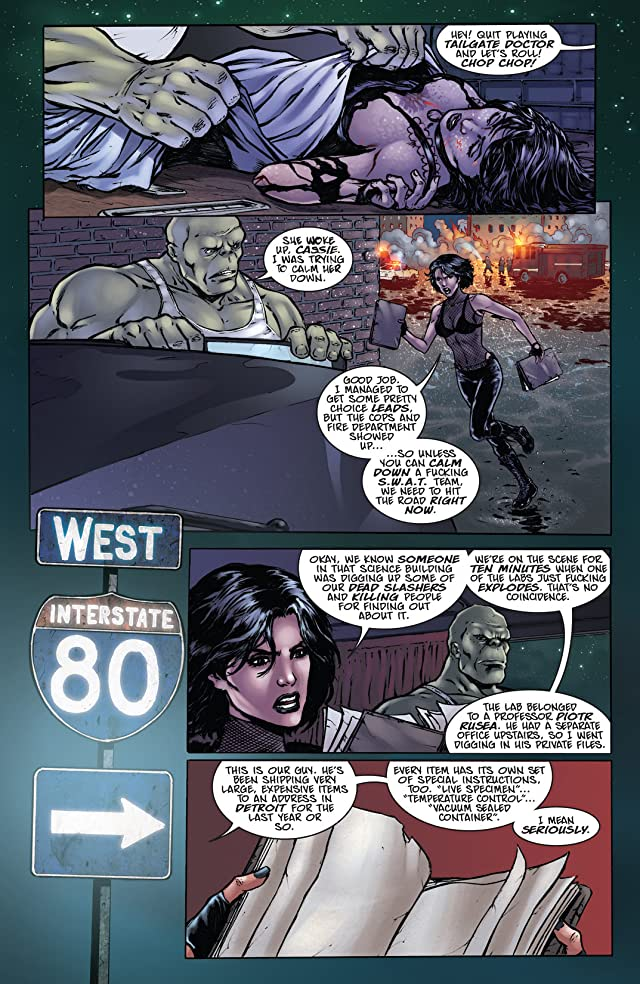 Hack/Slash/Eva: Monster's Ball #2 (of 4)