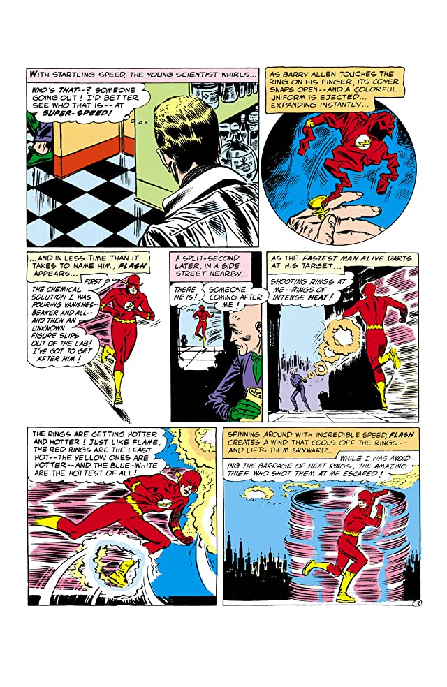 click for super-sized previews of DC Comics Presents: The Flash #1