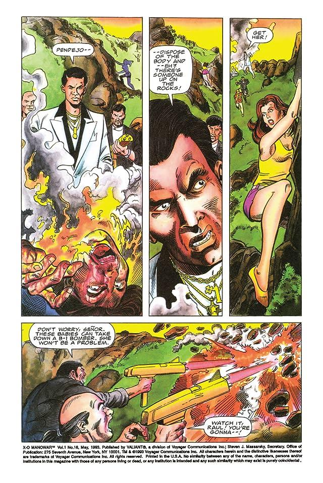 X-O Manowar (1992-1996) #16