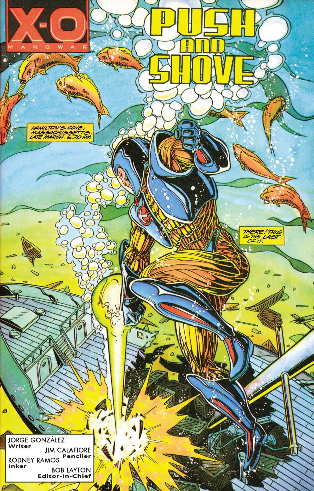 X-O Manowar (1992-1996) #17