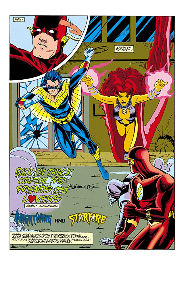 click for super-sized previews of The Flash (1987-2009) #81