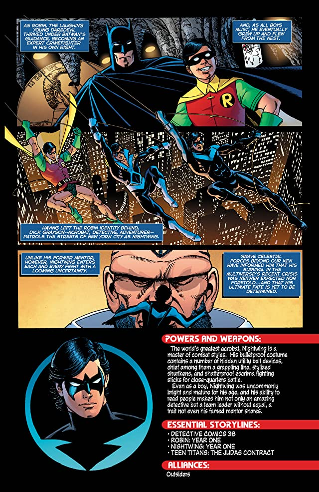 click for super-sized previews of Nightwing 101
