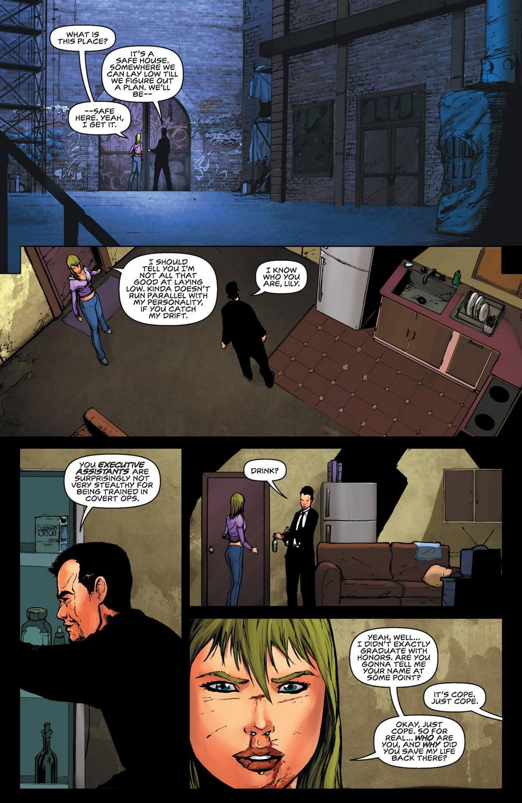 Executive Assistant: Assassins #2