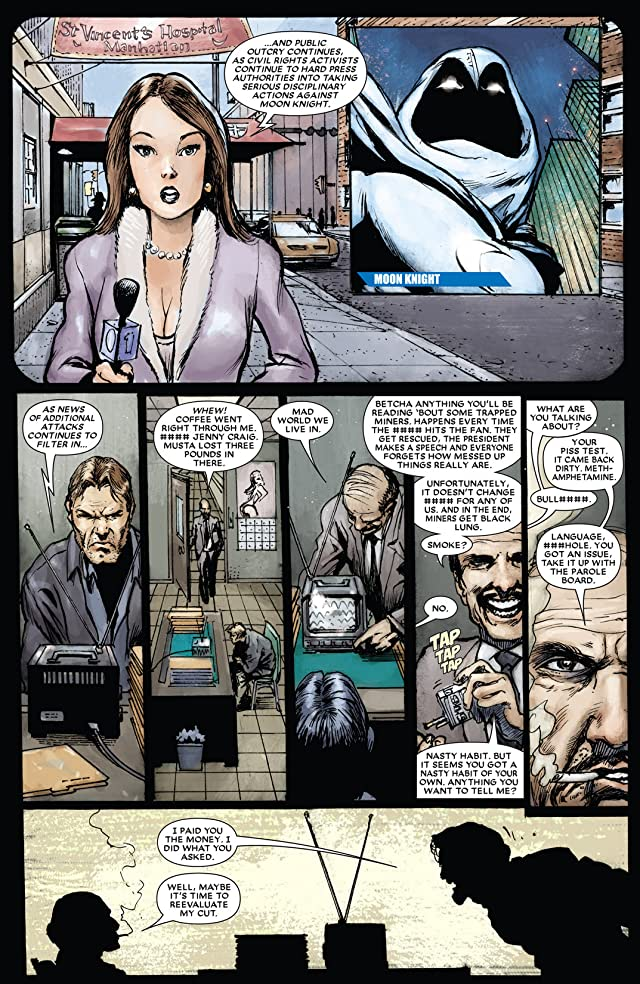 click for super-sized previews of Moon Knight (2006-2009) #16