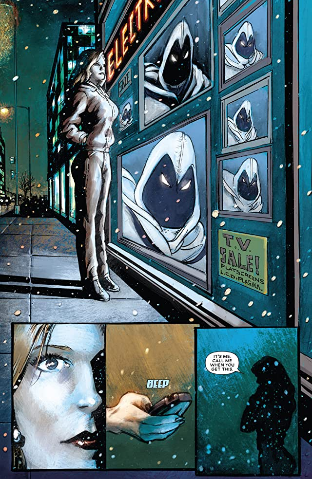 click for super-sized previews of Moon Knight (2006-2009) #17