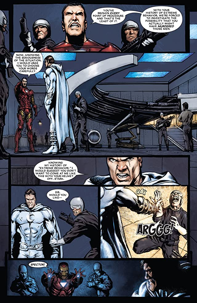 click for super-sized previews of Moon Knight (2006-2009) #18