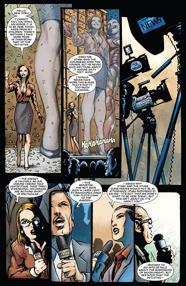 click for super-sized previews of Moon Knight (2006-2009) #19