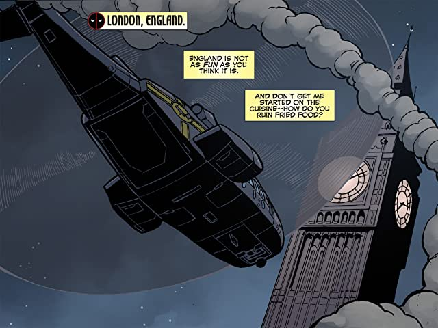 click for super-sized previews of Deadpool: The Gauntlet Infinite Comic #1