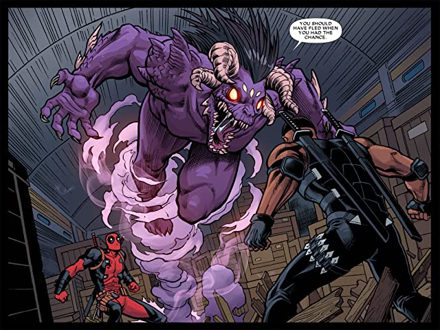 click for super-sized previews of Deadpool: The Gauntlet Infinite Comic #5