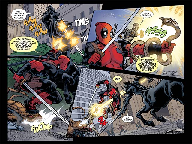 click for super-sized previews of Deadpool: The Gauntlet Infinite Comic #10