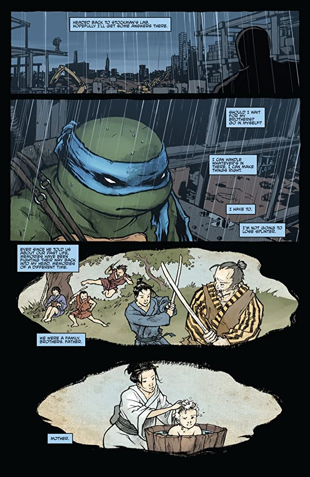 click for super-sized previews of Teenage Mutant Ninja Turtles Micro Series #4: Leonardo