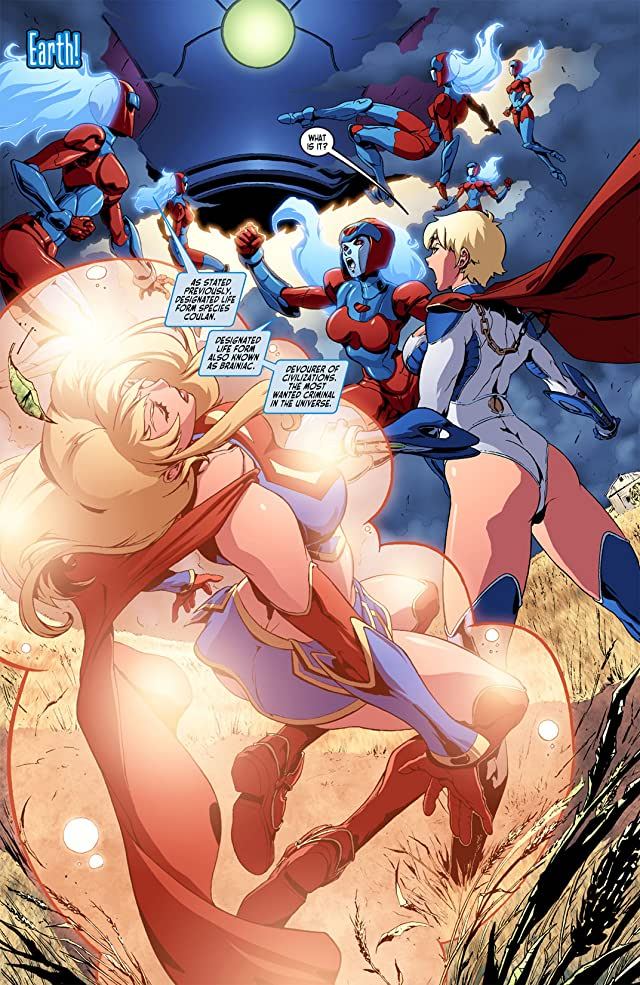 click for super-sized previews of Ame-Comi V: Supergirl #1