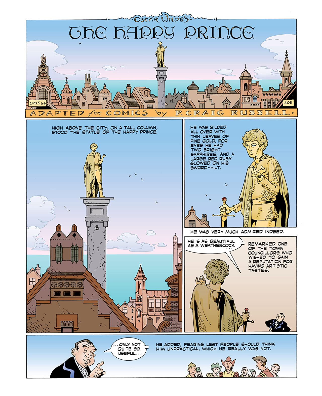 Fairy Tales of Oscar Wilde Vol. 5: Preview