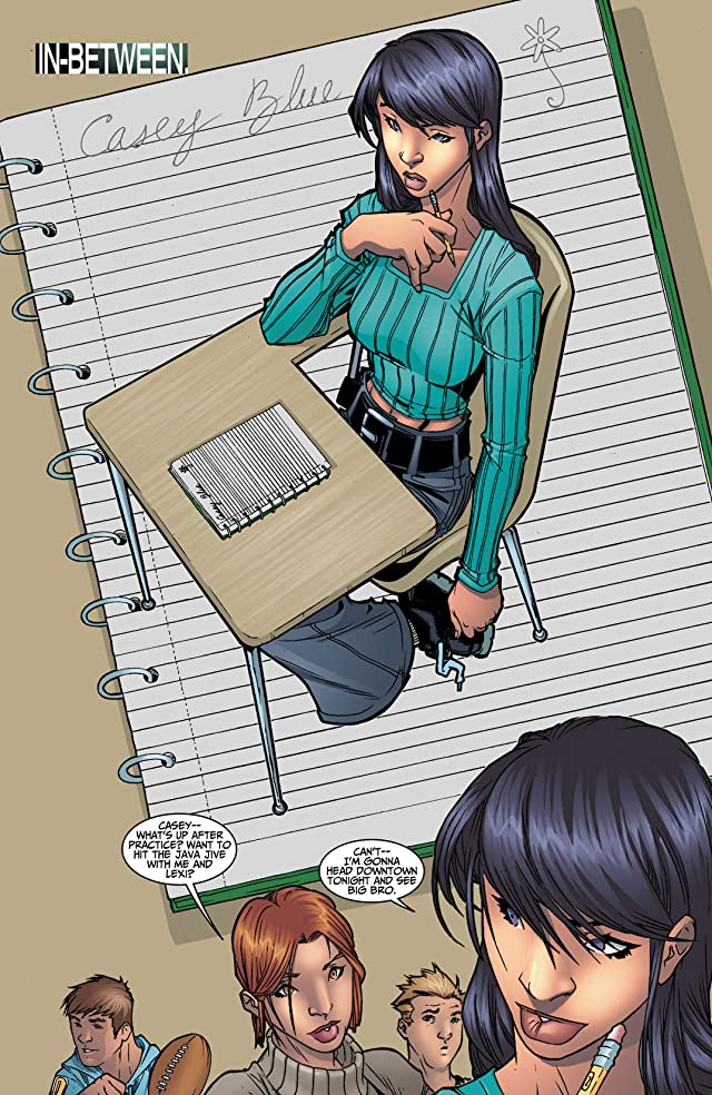 click for super-sized previews of Casey Blue: Beyond Tomorrow #1
