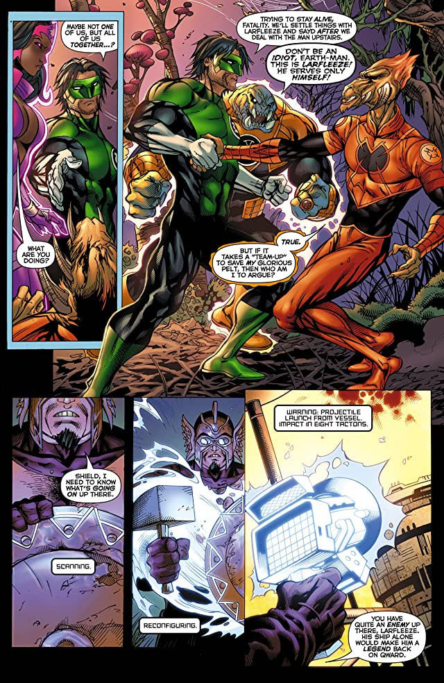 click for super-sized previews of Green Lantern: New Guardians (2011-2015) #12