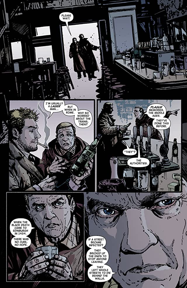 click for super-sized previews of Hellblazer #224