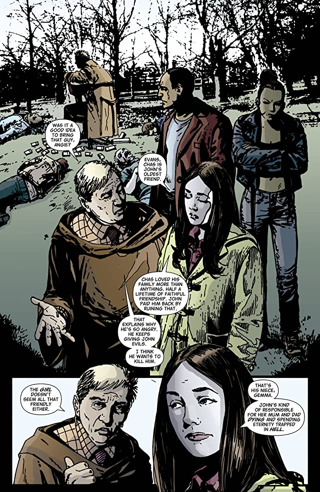 click for super-sized previews of Hellblazer #225